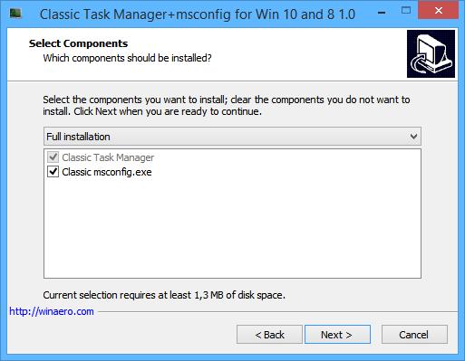 Classic Taskmgr Installer 2