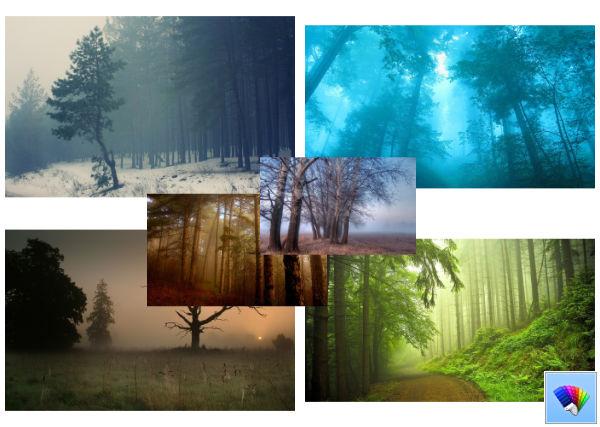 Foggy theme for Windows 8