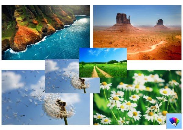 Amazing Nature Corner theme for Windows 8