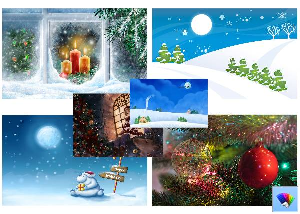 Christmas theme for Windows 8