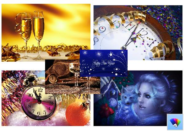 new year theme for windows 8