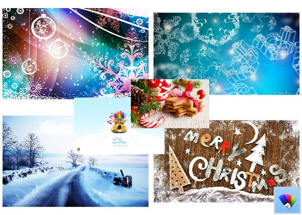 X-mas theme for Windows 8
