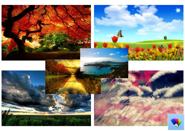 Beautiful Places theme for Windows 8