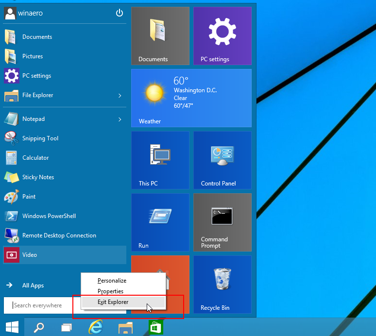 how to restart a windows 10 download