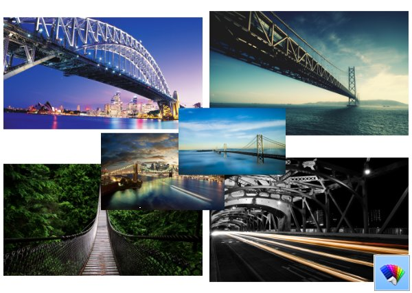 Bridge theme for Windows 8