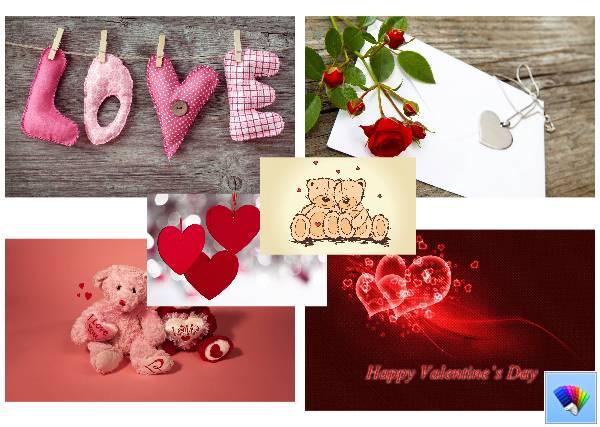 St Valentine's theme for Windows 8