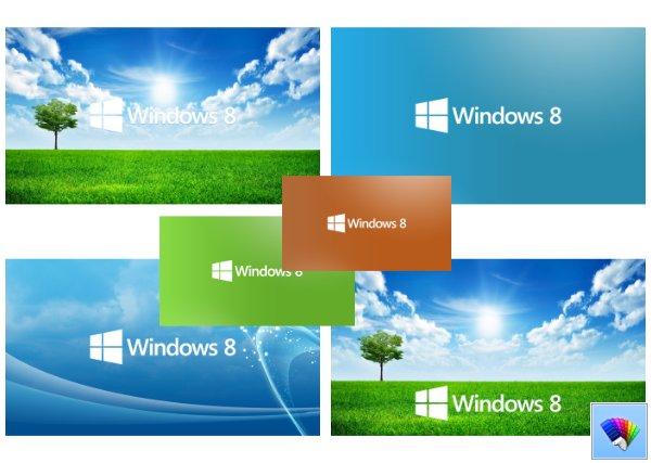 Windows 8 Set theme for Windows 8