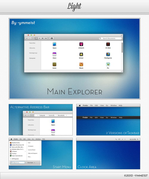 Visual Style Light for Windows 7