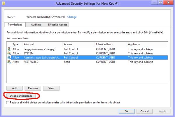 Copy Permissions in Windows 8