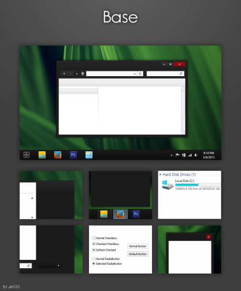 base theme for Windows 8