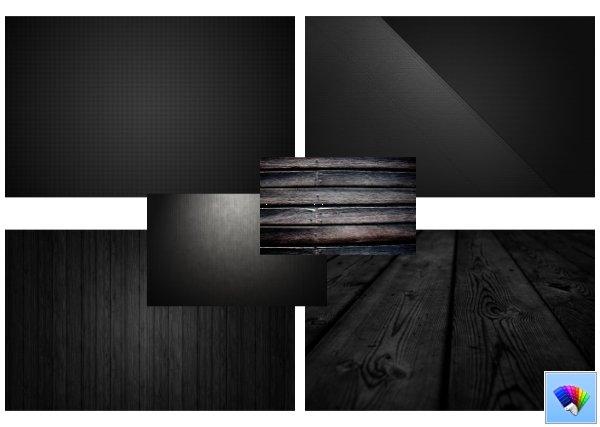 Black Pattern theme for Windows 8