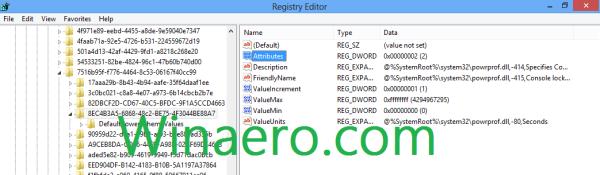 Registry Settings Tweaked