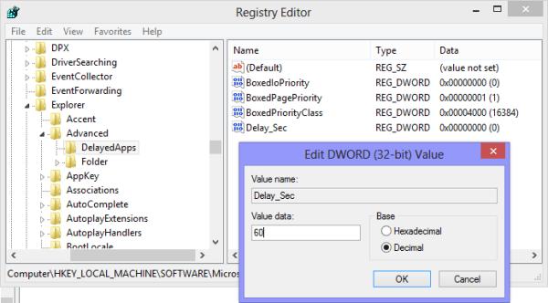 delay_sec in registry
