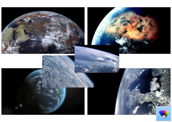 Earth Views theme for Windows 8