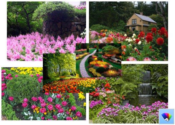 Gardens theme for Windows 8