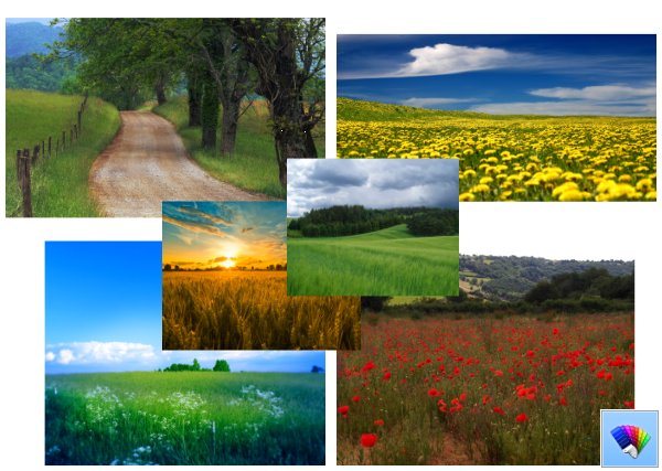 Rural Landscapes theme for Windows 8