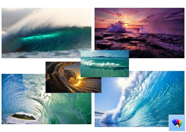 Sea Waves theme for Windows 8