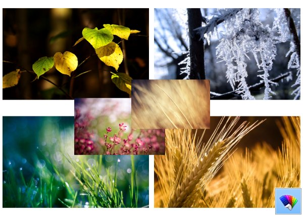 Nature Mix theme for Windows 8