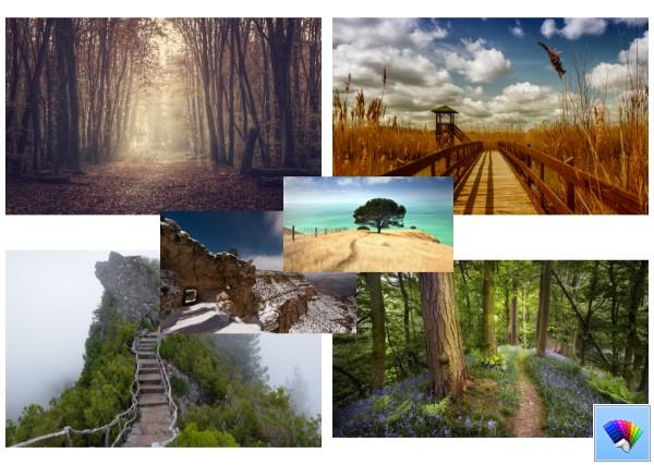 Wilderness Pathways theme for Windows 8