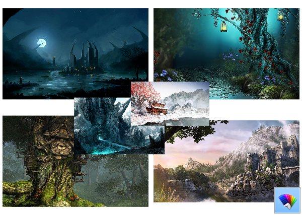 Fantasy theme #2 for Windows 8