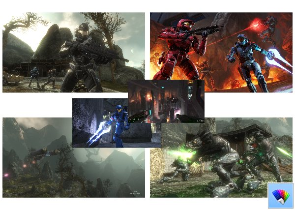 Halo theme for Windows 8