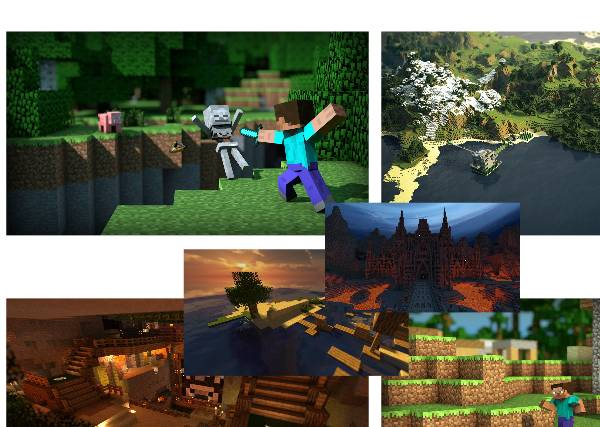 Minecraft theme for Windows 8