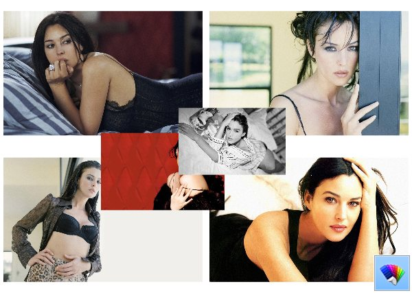 Monica Bellucci theme for Windows 8