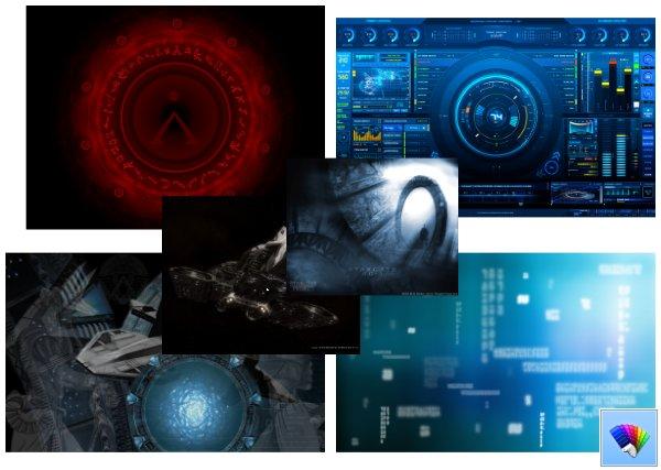 Stargate theme for Windows 8