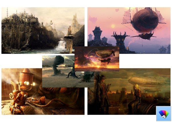 Steampunk theme #2 for Windows 8