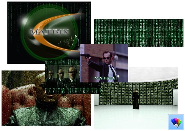 The Matrix theme for Windows 8
