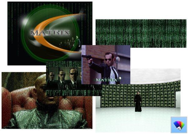 The Matrix theme for Windows 8