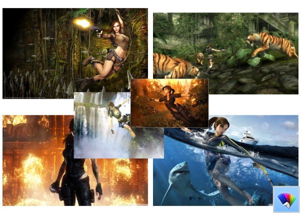 Tomb Raider theme for Windows 8