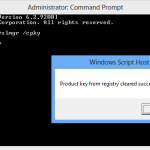 Security tip: Protect your Windows product key from being stolen