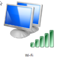 Where is the 'ad hoc' wireless connection feature in Windows 8 and Windows 8.1