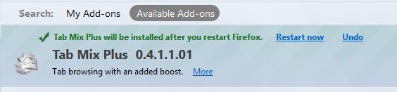 Firefox Restart
