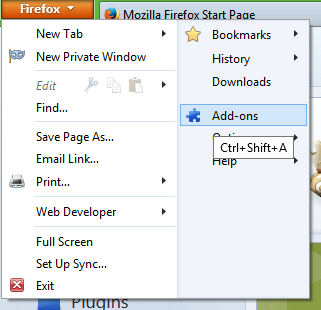How to add a Run button in Firefox for downloaded EXE files