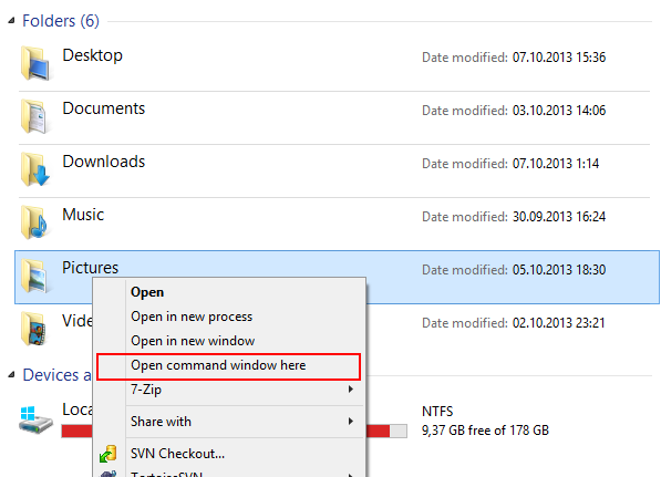 How to open elevated command prompt in Windows 10
