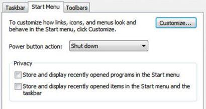Clear Run History in Windows 7