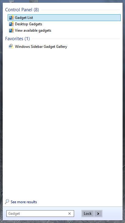 Start Is Back menu example