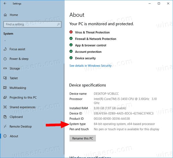 Windows 10 32 Bit Or 64 Bit