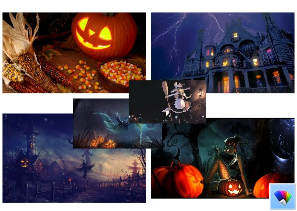 Halloween 2013 theme for Windows 8