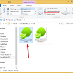 How to show or hide file extensions in Windows 8.1
