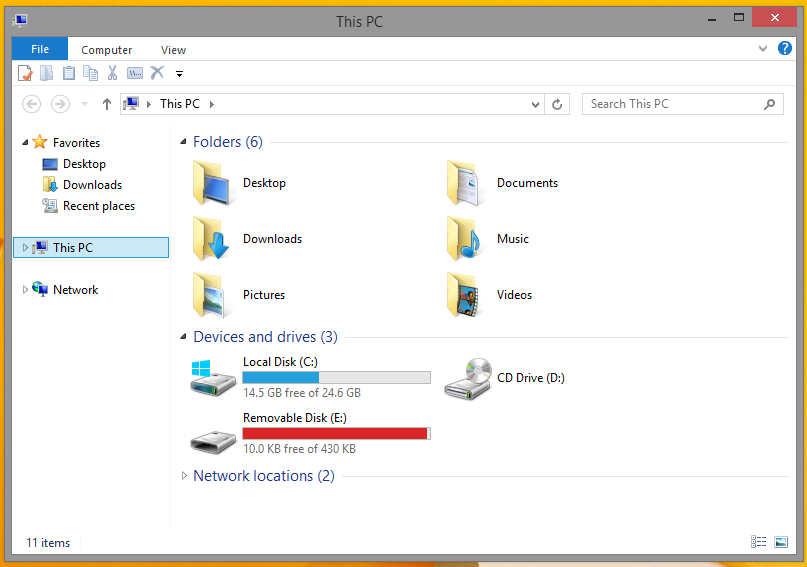 This PC in Win 8.1 x64