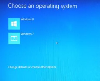 How to avoid two reboots with Windows 8 1 and Windows 7 dual