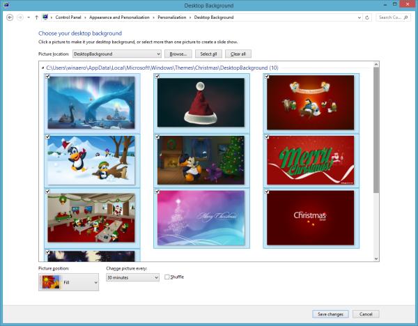 Christmas Theme Wallpapers