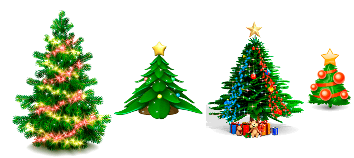 christmas trees 2014 - Animated Christmas Tree