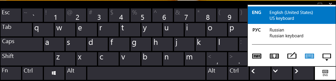 enable the full keyboard standard keyboard layout in the touch keyboard of windows 8 1. Black Bedroom Furniture Sets. Home Design Ideas