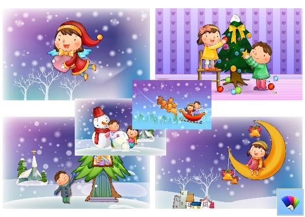Christmas theme for Windows 8 and Windows 8.1
