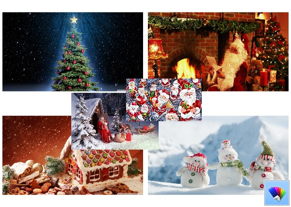 Yet another Christmas theme for Windows 8 and Windows 8.1