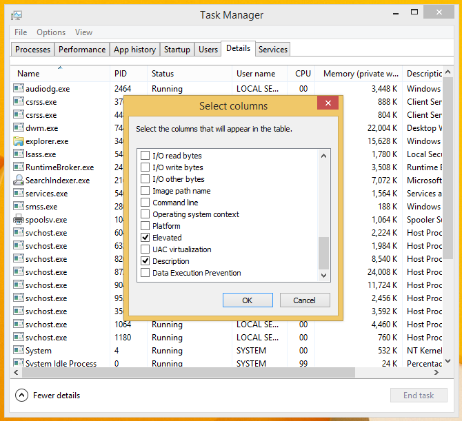 How to check if a process is running as administrator